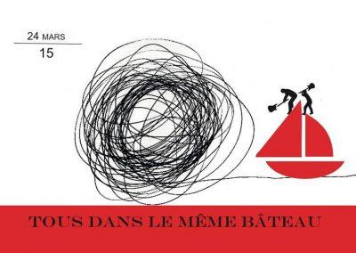 TOUS DANS LE MEME BATEAU