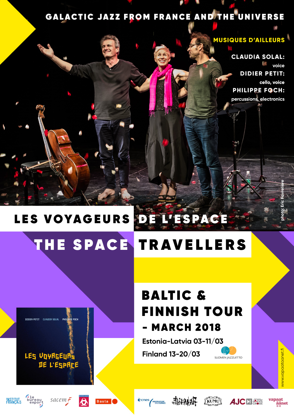 Les Voyageurs de l'Espace – BALTIC TOUR 2018